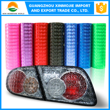Color to change car cateye headlight tint film for super dynamic and super visible light transimission