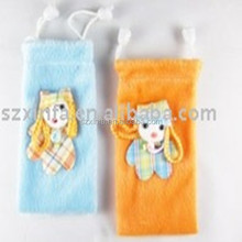 custom microfiber brand name cell phone pouch bag case