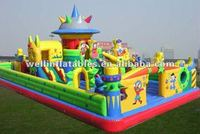 2012 big inflatable games