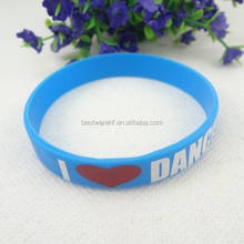 print events gifts silicone rubber wristbands