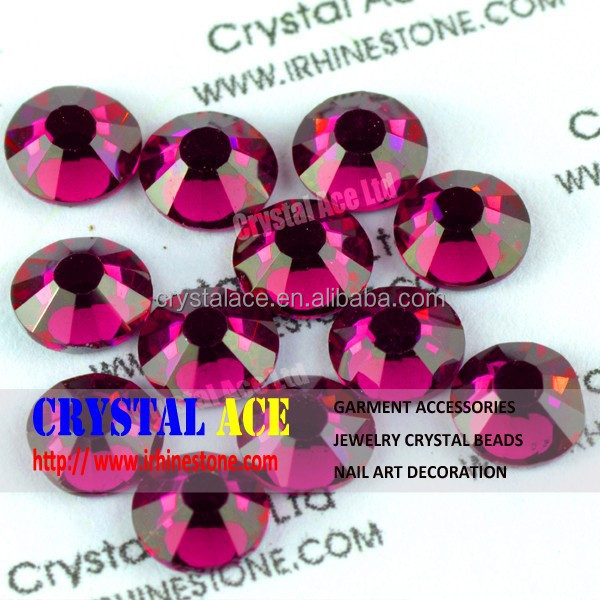 Non hotfix flat back rhinestones,no hot fix crystal flatback rhinestone beads for nail decoration