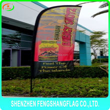 Ductile Uv printing machine teardrop beach flag banner auto show
