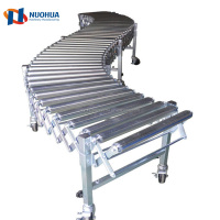 Factory Price Heavy Duty Flexible Roller Conveyor With Professional Technical Support