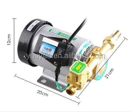 Stainless solar hot water heater booster pump 90 W for low pressure solar boilers system