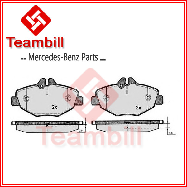 car parts break pad for Mercedes brake pad w211 w212 E200 0034206520 , 003 420 65 20