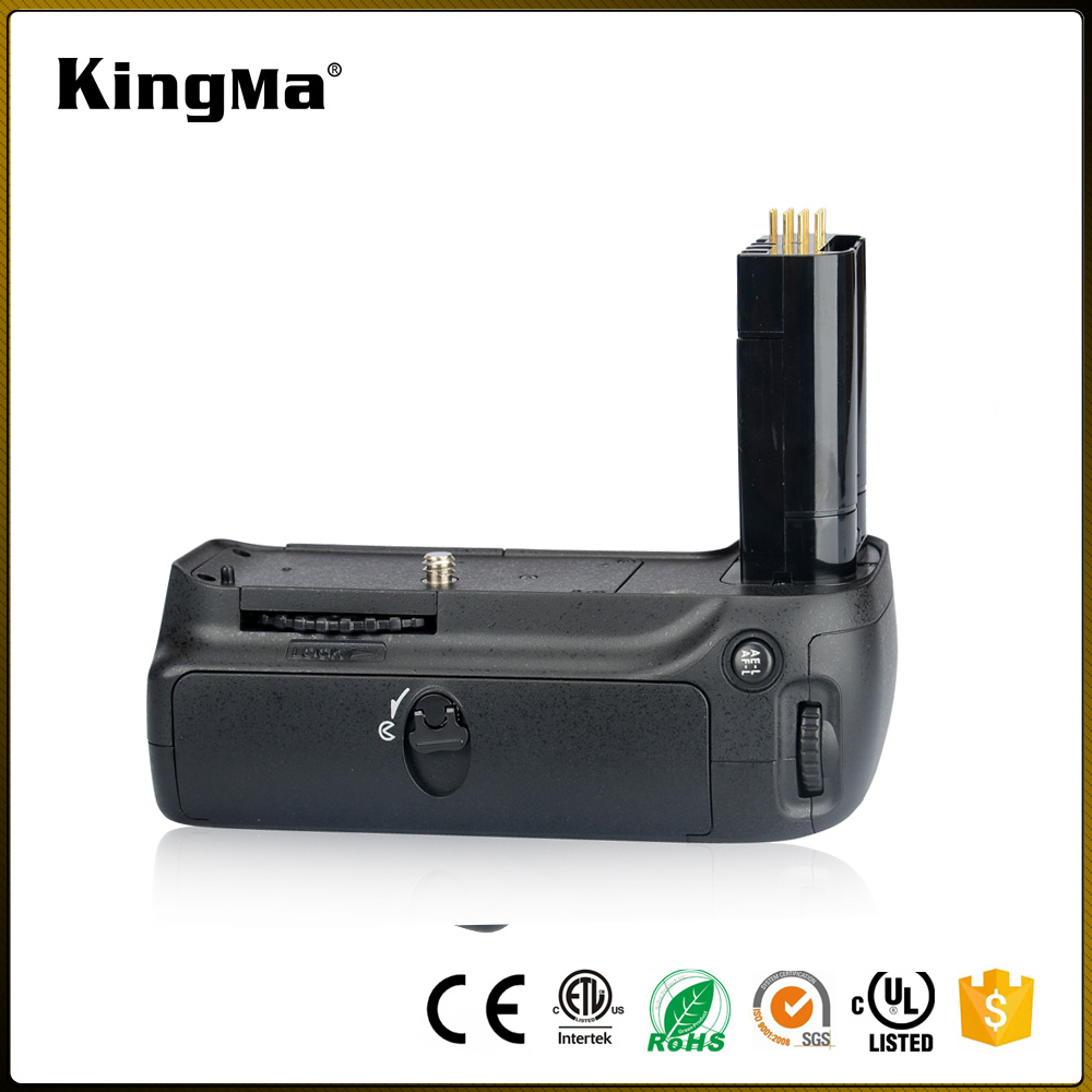 KingMa Replacement MB-D80 Battery Grip Hand Grip Works with 6pcs AA Battery for Nikon D80 D90 Vertical battery grip MB-D80