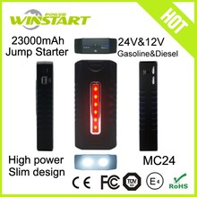 multi-functional 68800mah car jumper battery booster portable car jump starter for all cars