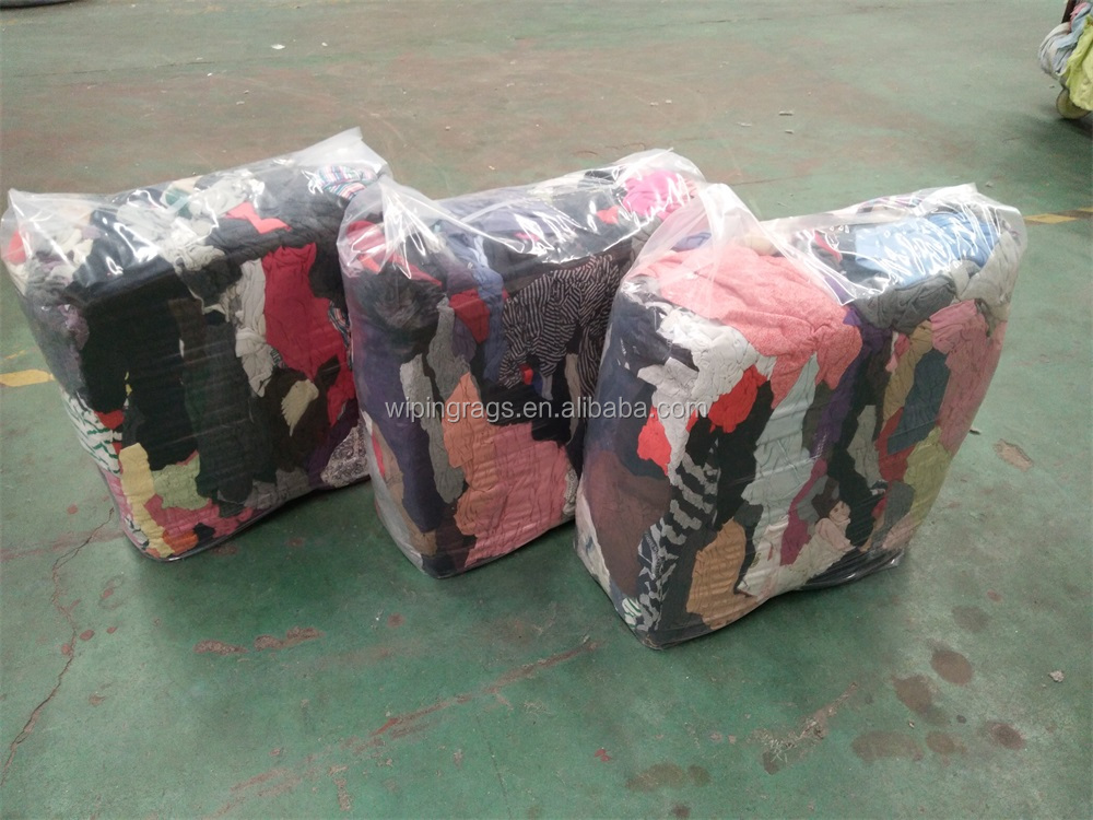 10kg bale color cotton rags