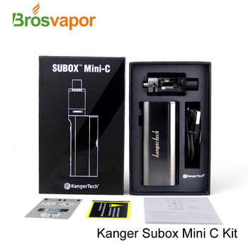 Authentic 50w Starter Kit Kanger Subox Mini-C Kit 2016 New Product Compatible with SSOCC