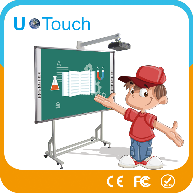 hot sale 82inch touch screen interactive whiteboard with pen in cheap price