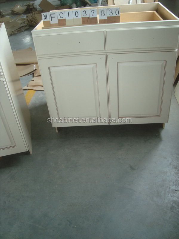 Economic top sell honey birch kitchen cabinets