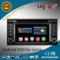new products 2016 car gps for 2013 Livina support aircondition dvd player /car radio 3G /wifi