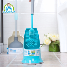Boomjoy New Design Double Sided Toilet Bowl Cleaning Brush