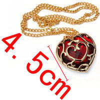 wholesale The Legend Of Zelda Game Alloy Necklace heart design