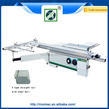 MJ3200TZ sliding table saw with scoring saw blade