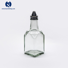 High Quality Glass Transparent Oil And Vinegar Cruet