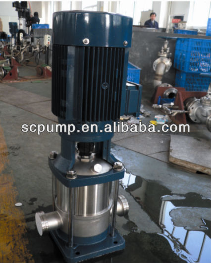 Vertical multistage centrifugal multistage centrifugal pump