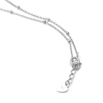 925 Chain Fashion Silver Necklace Designs For Women