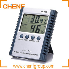 Factory Best Price HC520 Digital Thermometer Hygrometer, Wall Clock Thermometer Hygrometer, Hygrometer Thermometer