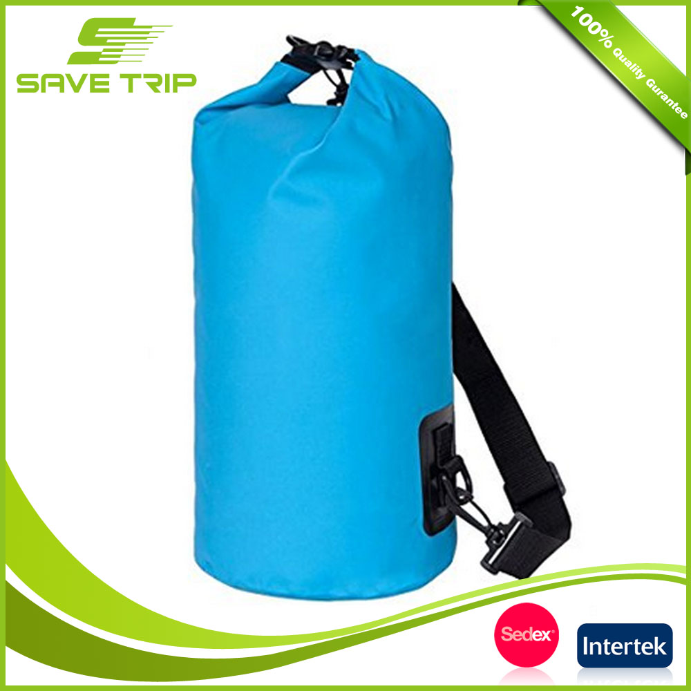 Various Colors and Sizes Beach Swimming Waterproof Floating Dry Bag with shoulder and handle for Fishing, Rafting, Snowboarding