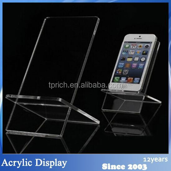Custom Clear small people hands phone stand wholesale