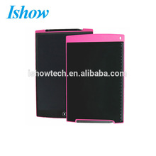 12 inch Office notice Board design E writing Pad LCD Drawing Pad with Stylus Pen and Lanyard Hole