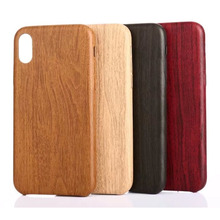 2017 hot selling new fashion design pu wood cell phone case for iphone 8 in stock