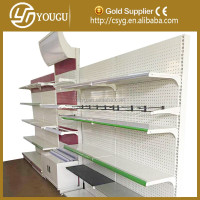 Hot sale supermarket & store elegant display shelf & clothes stand&garment rack