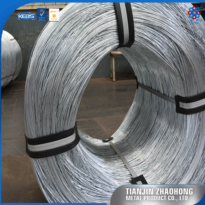 Hard Drawn 340-500Mpa 0.45mm Cable Carbon Steel Wire