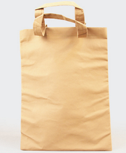 2015 long use life high quality washable kraft paper bag blank handbag tote bag