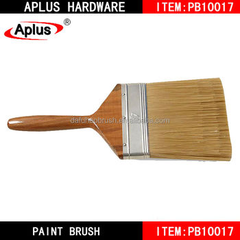 Short Cut Non drip soft no bristle loss industrial paint brush in Tongcheng
