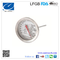 Stainless Steel Meat thermometer for all kinds of meat