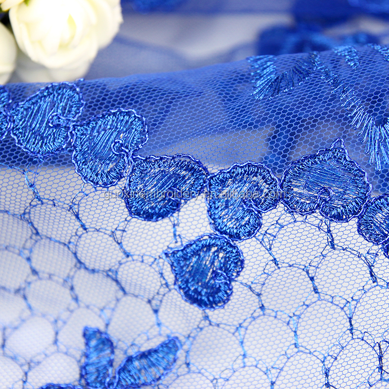 2018 Fashion Newest bridal lace fabric for wedding lace fabric with 3d flower and guipure lace fabric