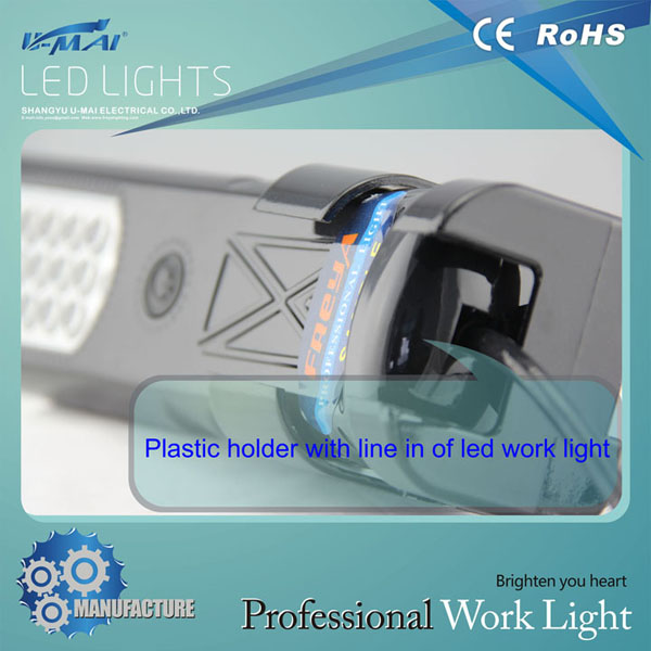 0203B LED rechargeable working lamps with lighting