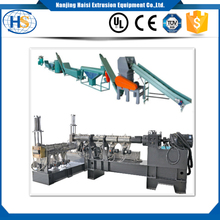 High output pp pet bottle film bag recycling extruder machine plastic washing line