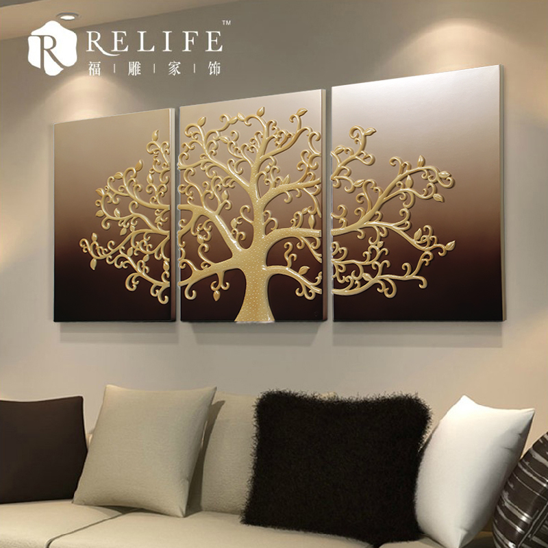 3d Wall Decor Lights : D wall art light up led canvas painting buy
