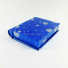 New Hot Custom Metal Book Shape Decorative Tin Box Gift Tin Can