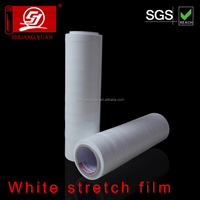 Dustproof waterproof Factory direct LLDPE White hand stretch film wrap film