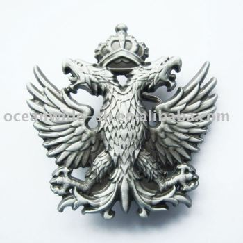 Belt Buckle (Crown Double-Headed Eagle)
