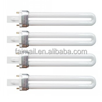 4 x 9w UV Lamp Tube Light Bulbs Replacement Make Up
