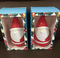 Hot sale Christmas gift carton toy Santa Claus speaker tumbler touching speaker