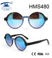 round shape woman style revo lens acetate sunglasses