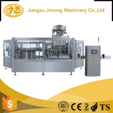 Automatic small carbonated beverage liquid soft drink filling bottle can making washing filling capping machine price