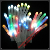 Popular Led Flashing Gloves wholesale festival items