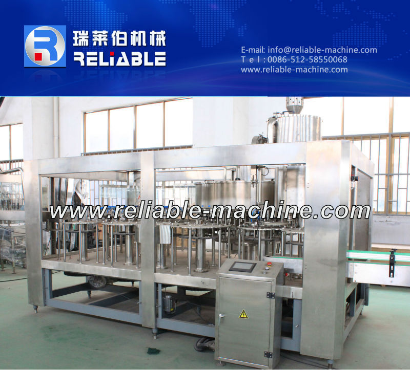 Automatic Plastic Counter Pressure Bottle Filler