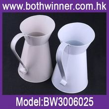 China suppliers tall aluminum vases ,h0tyu silver metal flower vase