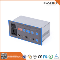 Gaoke New GK-600 for classroom education motorized projector screen with remote control
