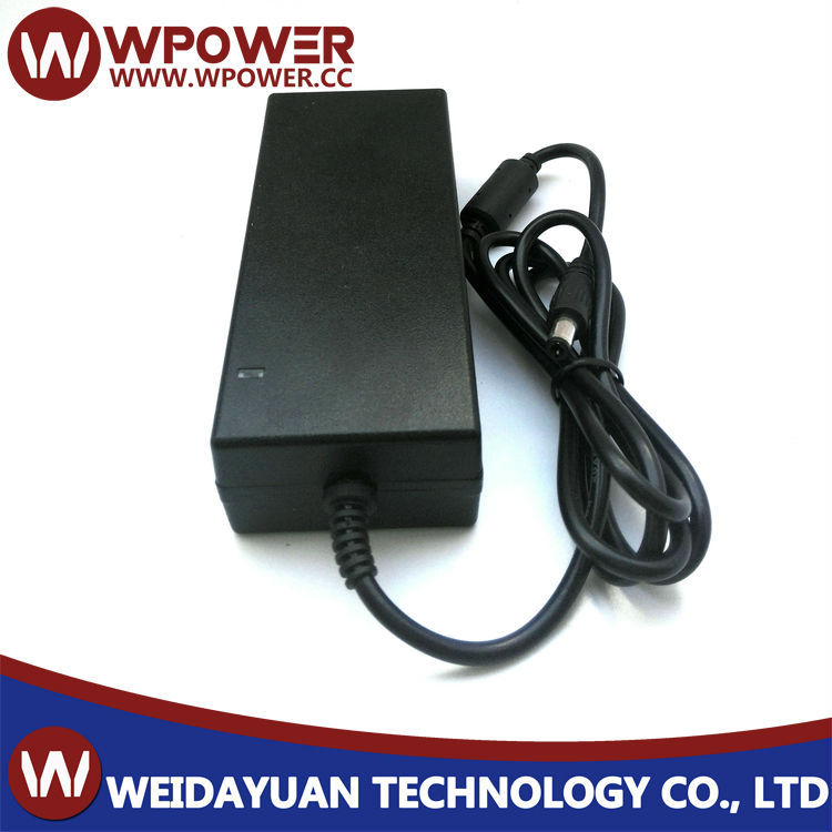 Desktop type 9V 5A power adapter(5.5x2.1/2.5mm DC connecter C6 coupler with FCC CE SAA RoHS certificates)