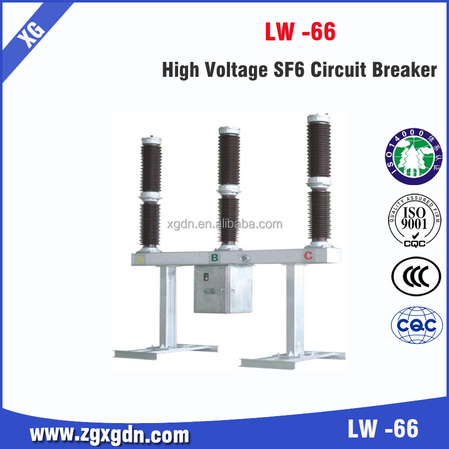 Standard ratings of sf6 circuit breaker specification safety