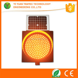 Drive Safely Traffic Solar Powered Led Flashing Beacon Ip54